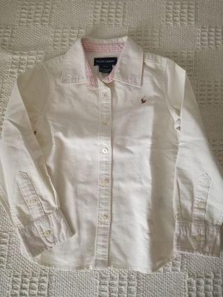 Camisa niña Ralph Lauren 4 años