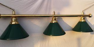 lámpara de billar