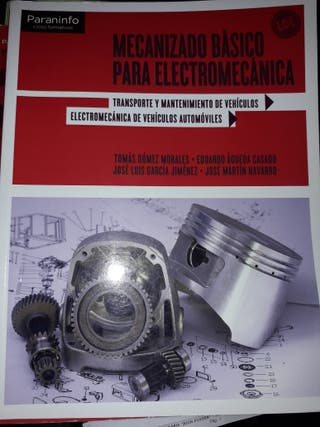 libros FP grado medio electromecánica automóvil