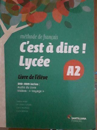 Libro francés 1° bach