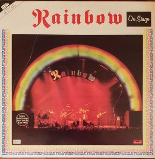 RAINBOW - On Stage (2-live) Disco, LP