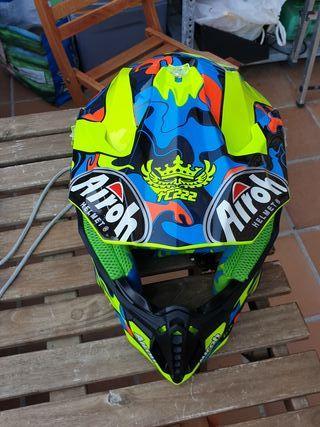 casco moto motocross airoh NUEVO