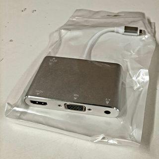 Adaptador de Lighting a VGA y HDMI, está NUEVO