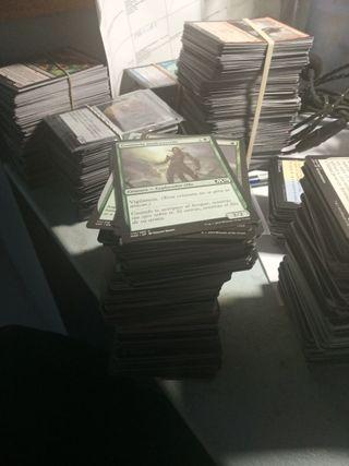 cartas Magic verdes
