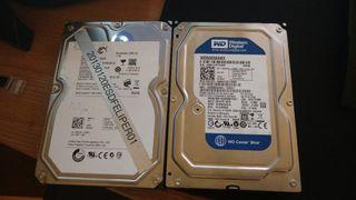 Disco duro HDD 1Tb + 500Gb