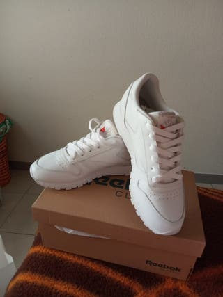 Zapatillas Reebok Classic Blancas talla 38