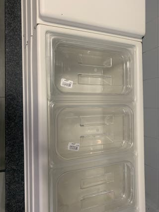 Vitrina de ingredientes refrigeradora expositora