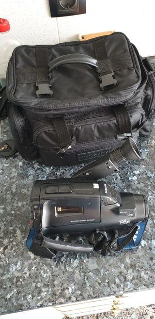 cámara de vídeo samsung