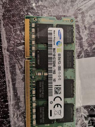 Memoria RAM 8GB DDR3L para portátil