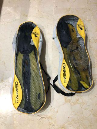 Equipo Buzo Snorkel Gafas Tubo Aletas