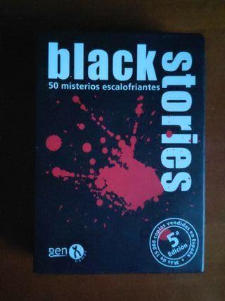 """Juego de cartas """"Black Stories"""""""