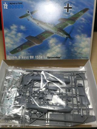 maqueta avión 1:72