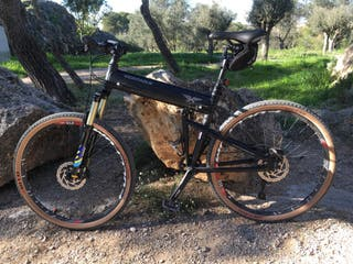 Bicicleta MTB Exclusiva.27.5.Plegable
