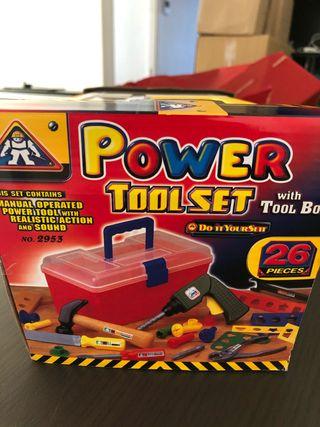 Juguete: caja de herramientas