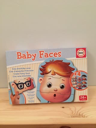 Baby faces Educa.