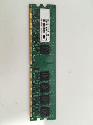Memoria RAM 1 GB DDR2 800