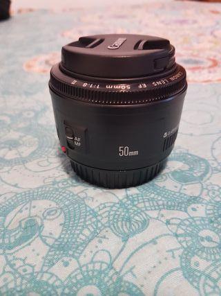 objetivo original Canon 50mm