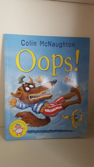 "Libro en inglés ""Oops!"""