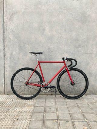 Bici piñón fijo fixie cuadro bianchi