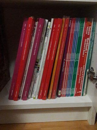 Libros escolares (5o de primaria hasta 4to de ESO)