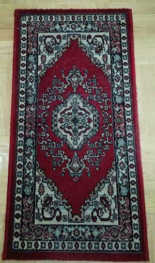 Juego de dos alfombras