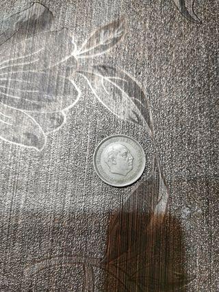 Moneda 5 pesetas Franco 1957 *71.