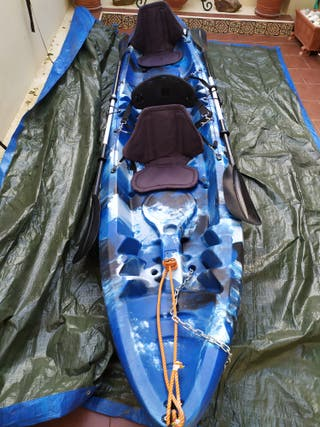 Vendo Kayak rígido 3 plazas
