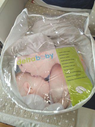 almohada maternidad y de lactancia delta baby