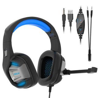 NUEVO. Auriculares Cascos Gaming PS4 Diadema 7.1