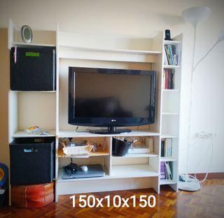 Mueble estantería televisión
