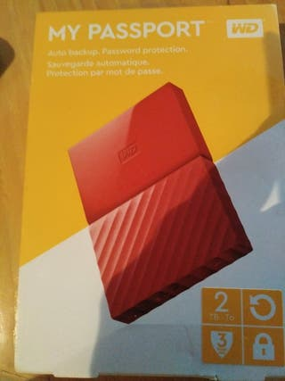 Disco Duro Passport 2 TB 3.0 WD