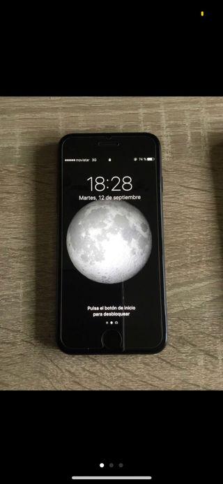 IPhone 7 de 128 gigas negro mate