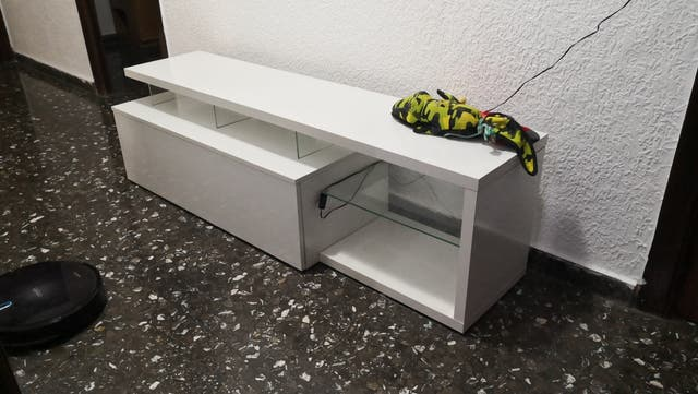 mueble para tv con led