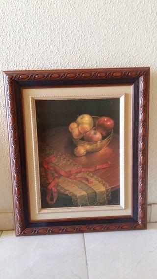 "Cuadro""Bodegon de frutas"""