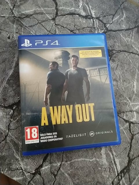 juego PS4 A way out