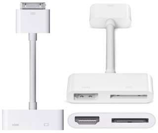 Apple - Adaptador AV Digital para iPad, iPhone y