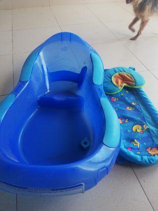Bañera para bebés.