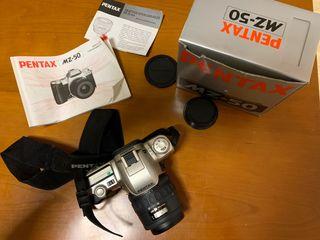 Camara reflex pentax MZ-50 carrete