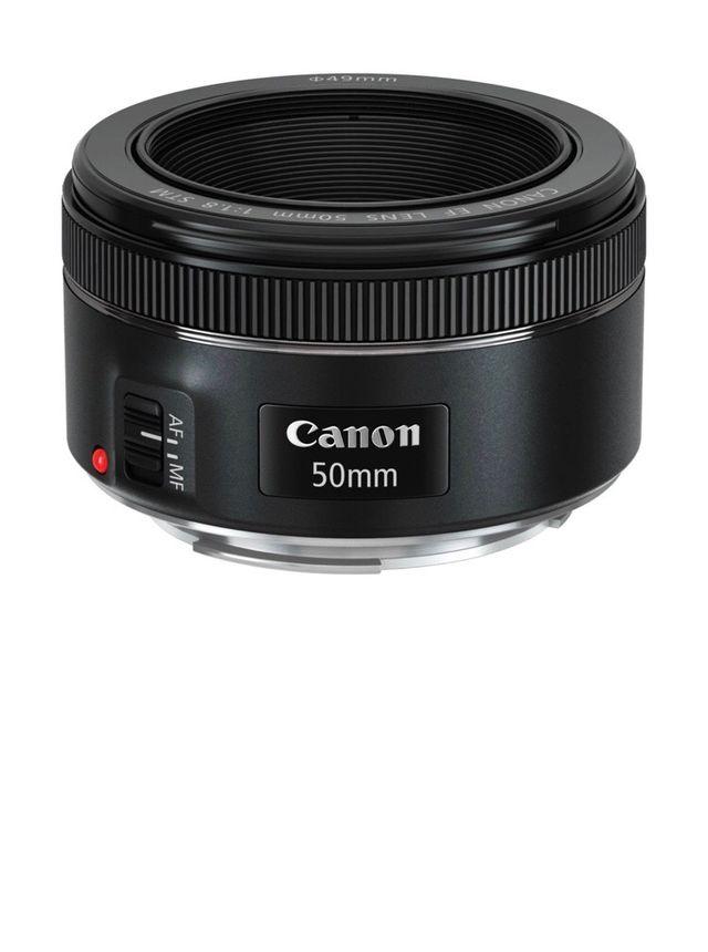 Objetivo 50mm Canon STM