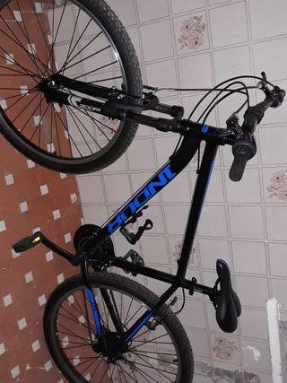 Bicicleta + Casco+ Dos candados + Soporte pared