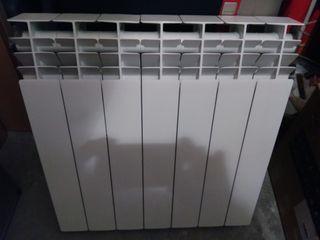 Radiador de aluminio.