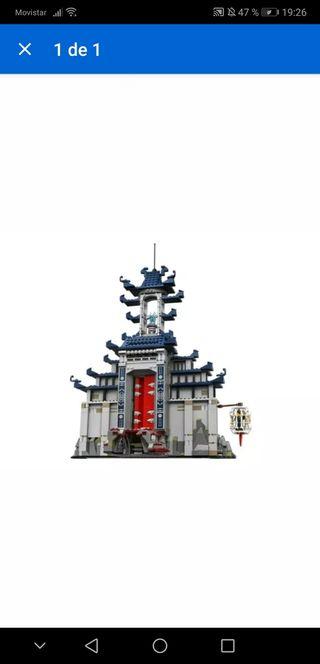 Lego ninjago 70617 Templo sin minifiguras