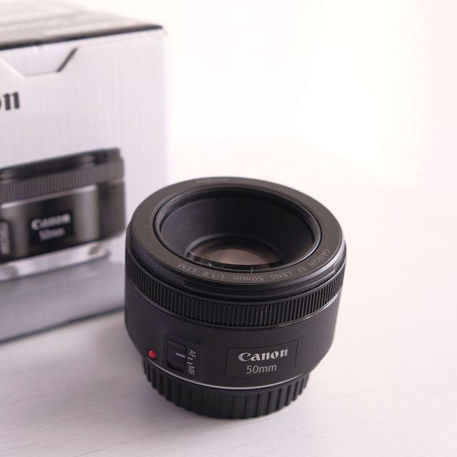 Objetivo CANON EF 50 f1.8 STM