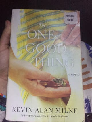 The One Good thing - novela en inglés