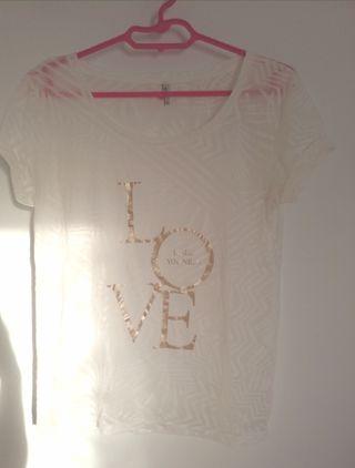 Camiseta transparente XS S
