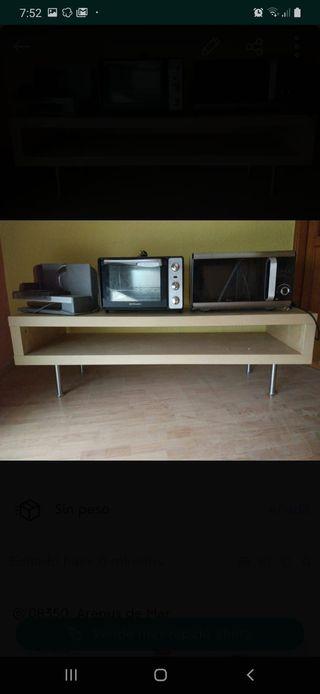 Mueble Ikea television.
