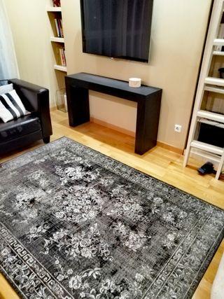 alfombra zara efecto vintage