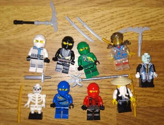 Figuras tipo lego Ninjago