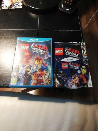 LEGO LA PELÍCULA EL VIDEOJUEGO WII U