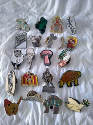 lote pins 20 pins diferentes pin